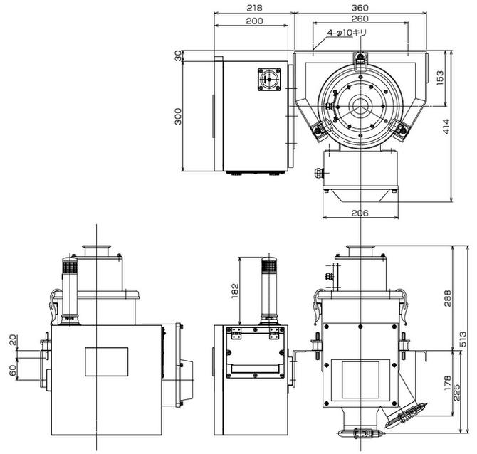 メタリダー WPM型寸法